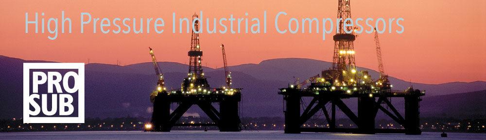 High Pressure Industrial compressors