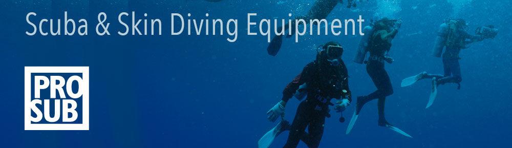 Scuba Skin Diving Divers