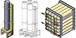 Air Storage Cylinder Racks ASCR